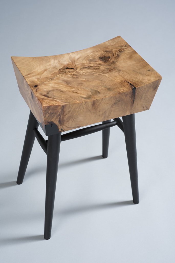 Arc of Time Stool Small